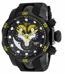 Invicta Men's 14459 Venom Quartz Chronograph Black Dial Watch