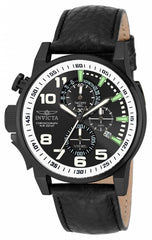 Invicta Men's 14476 I-Force Quartz 3 Hand Black Dial Watch