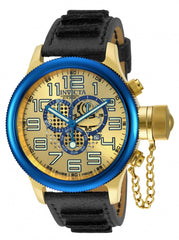 Invicta Men's 14615 Russian Diver Quartz Chronograph Gold Dial Watch