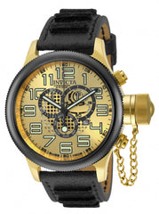 Invicta Men's 14616 Russian Diver Quartz Chronograph Gold Dial Watch