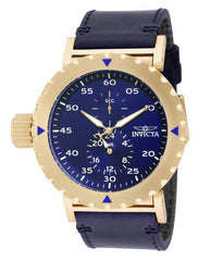 Invicta  Men's 14641 I-Force Quartz Chronograph Blue, White Dial Watch