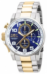Invicta Men's 14960 I-Force Quartz Chronograph Blue, White Dial Watch