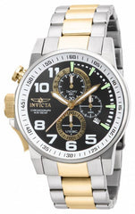 Invicta Men's 14961 I-Force Quartz Multifunction White, Gunmetal Dial Watch