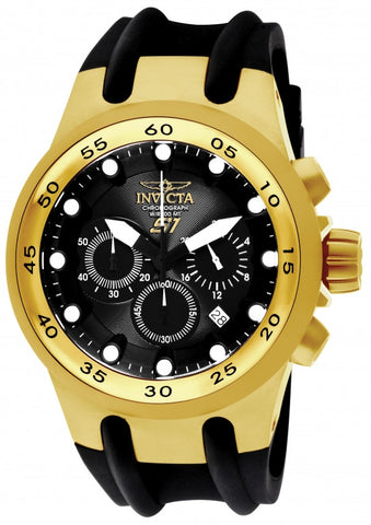 Invicta Men's 1509 S1 Rally Quartz Chronograph Black Dial Watch