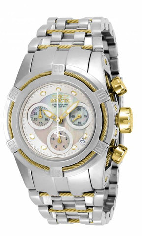 Invicta Women's 15273 Bolt Quartz Chronograph White Dial Watch