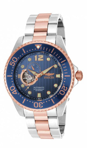 Invicta Men's 15416 Pro Diver Automatic Multifunction Blue Dial Watch