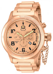 Invicta Men's 15477 Russian Diver Quartz Chronograph Rose Gold Dial Watch