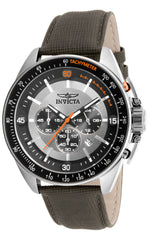 Invicta  Men's 15907 S1 Rally Quartz Chronograph Black, Silver Dial Watch