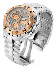 Invicta  Men's 15982 Excursion Quartz Chronograph Silver Dial Watch