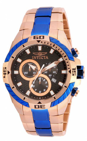 Invicta Men's 16067 Pro Diver Quartz Multifunction Black Dial Watch