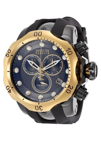 Invicta Men's 16154 Venom Quartz Chronograph Gunmetal Dial Watch