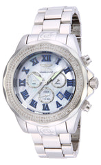 Invicta Men's 16257 Pro Diver Diamond Quartz 3 Hand Platinum Dial Watch