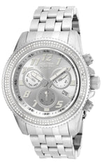 Invicta Men's 16260 Pro Diver Diamond Quartz Chronograph Silver Dial Watch