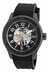 Invicta  Men's 16281 Specialty Mechanical 3 Hand Black Dial Watch