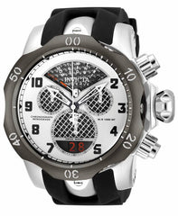 Invicta Men's 16310 Venom Quartz Chronograph Black, Silver Dial Watch