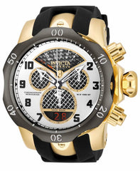 Invicta Men's 16311 Venom Quartz Chronograph Black, Silver, Gold Dial Watch