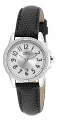 Invicta Women's 16340 Angel Quartz 3 Hand Silver Dial Watch