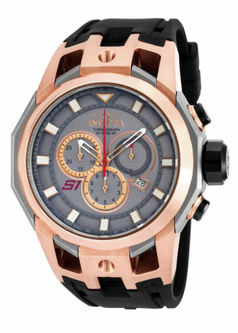Invicta Men's 16810 S1 Rally Quartz Chronograph Titanium Dial Watch