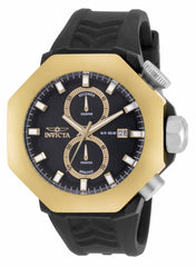 Invicta Men's 16915 I-Force Quartz Multifunction Black Dial Watch