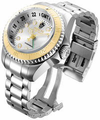 Invicta Men's 16961 Hydromax Quartz 3 Hand Silver Dial Watch