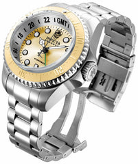 Invicta Men's 16962 Hydromax Quartz 3 Hand Gold Dial Watch