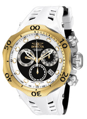Invicta Men's 16991 Venom Quartz Chronograph Black, White Dial Watch