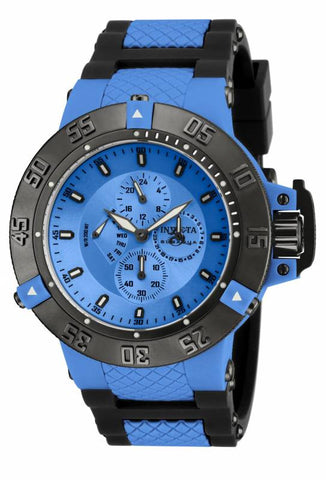 Invicta Men's 17118 Subaqua Quartz Multifunction Blue Dial Watch