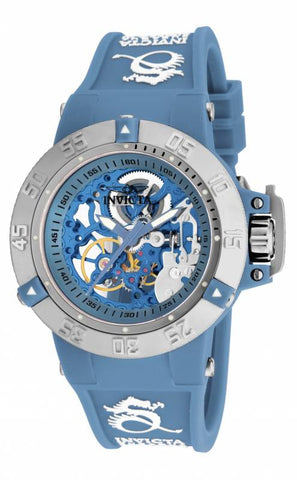 Invicta Women's 17131 Subaqua Mechanical 3 Hand Blue Dial  Watch
