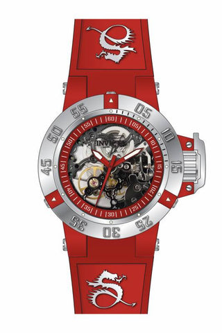 Invicta Women's 17133 Subaqua Mechanical 3 Hand Red Dial  Watch