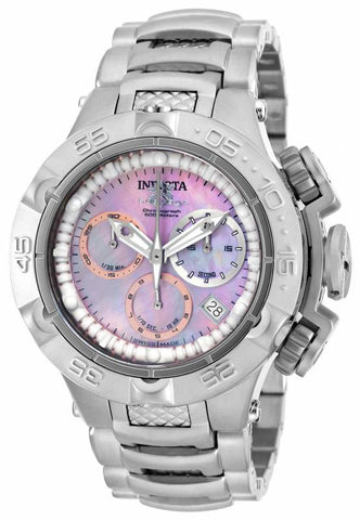 Invicta Women's 17220 Subaqua Quartz Chronograph Pink Dial Watch