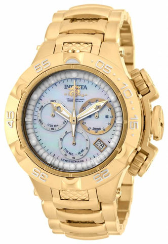 Invicta Women's 17222 Subaqua Quartz Chronograph White Dial Watch