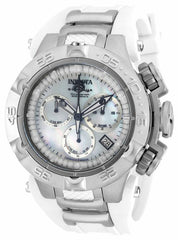 Invicta  Women's 17231 Subaqua Quartz Chronograph White Dial Watch