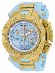 Invicta  Women's 17237 Subaqua Quartz Chronograph Light Blue Dial Watch