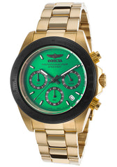 Invicta Men's 17315 Speedway Quartz Chronograph Green Dial Watch