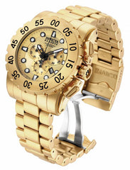 Invicta  Men's 17379 Reserve Quartz 3 Hand Gold Dial Watch