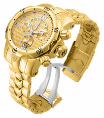Invicta Men's 17633 Venom Quartz Chronograph Gold Dial Watch