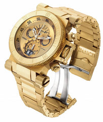 Invicta Men's 17643 Coalition Forces Quartz Chronograph Gold Dial Watch