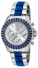 Invicta Women's 18869 Angel Quartz Chronograph Silver Dial Watch