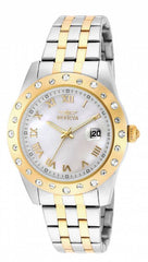 Invicta Lady 18981 Angel Quartz 3 Hand White Dial Watch
