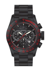 Invicta Men's 19296 Speedway Quartz Chronograph Black Dial Watch