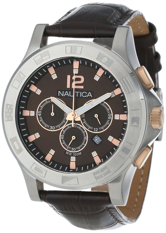 Nautica Unisex N22620G NCS 801 Classic Analog with Enamel Bezel Watch