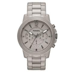 Fossil Ceramic Gray Dial Gray Ceramic Ladies Watch CE5017