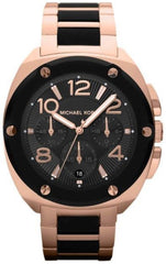 Michael Kors - Tribeca Rose Silicone Chronograph Watch - MK5732