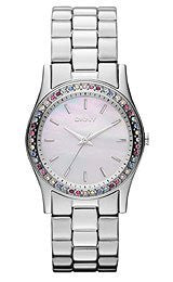 DKNY Stainless Steel with Glitz Women's watch #NY8723