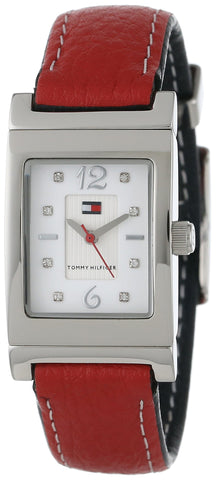 Tommy Hilfiger Women's 1780565 Red and Navy Reversible Watch