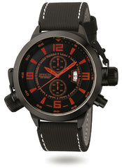 Invicta Men's 3960 Corduba Quartz Chronograph Black Dial Watch