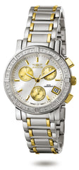 Invicta Women's 4719 Wildflower Quartz Chronograph White Dial Watch