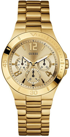 GUESS U12631L1 Active Shine Watch - Gold
