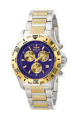 Invicta Men's 5699 Invicta II  Quartz Chronograph Blue Dial Watch