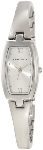 Anne Klein Women's 106739SVSV Silver-Tone Dress Bangle Watch